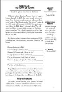 4. Bible Essentials
